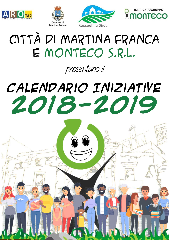 MARTINA FRANCA: CALENDARIO INIZIATIVE 2018-2019