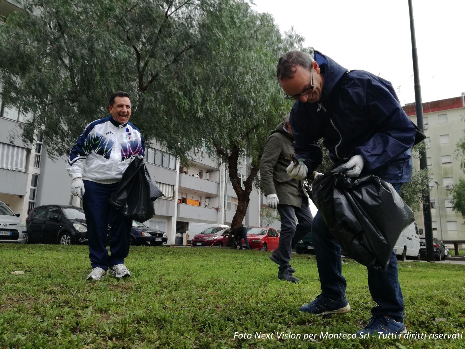Operazione Quartieri puliti - E' la volta di San Massimiliano Kolbe