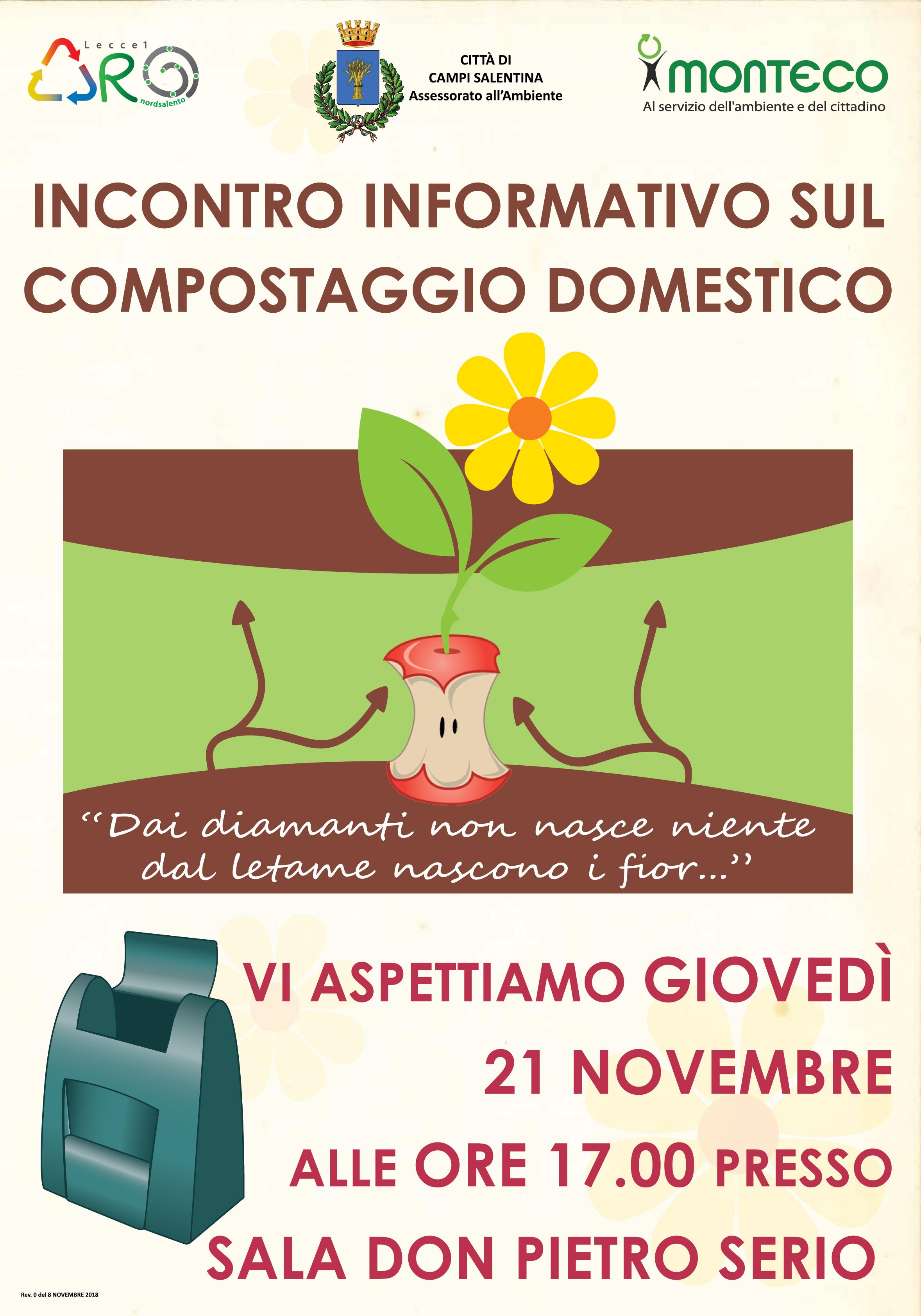 Incontro informativo compostaggio domestico 21.11.2019