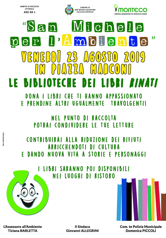 San Michele Salentino. Le Biblioteche dei libri RINATI al Festival del Fico mandorlato