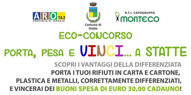 'Porta Pesa e Vinci', l'eco-concorso di Monteco Srl fa tappa a Statte