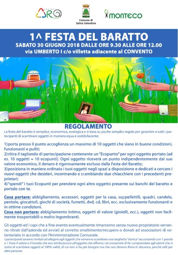 Festa del baratto a Salice Salentino